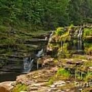 The Ledges Waterfalls Poster