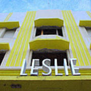 The Leslie Hotel Poster