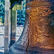 The Liberty Bell In Philadelphia Poster