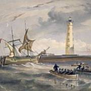 The Lighthouse At Cape Chersonese Poster