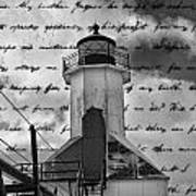 The Lighthouse Poem Poster