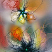 The Lightness Of Being-abstract Art Poster