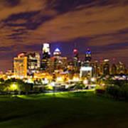 The Lights Of Philadelphia Poster
