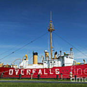The Lightship Overfalls Poster