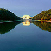 The Lincoln Memorial At Sunrise Poster