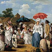 The Linen Market. Santo Domingo Poster