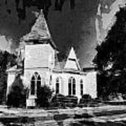 The Little Church On The Corner Poster