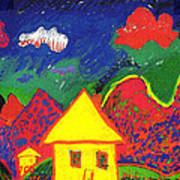 The Little House In The Montains Poster