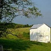 The Little White Barn Poster