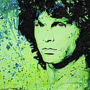 The Lizard King Poster by Chris Mackie