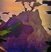 The Lone Cypress Poster