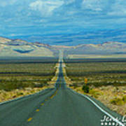 The Long Road Through Death Valley Poster