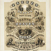 The Lords Prayer Poster by Bill Cannon