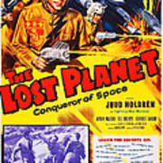 The Lost Planet, Top Right Judd Holdren Poster