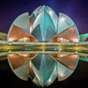 The Lotus Temple Poster