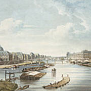 The Louvre, From Views On The Seine Poster