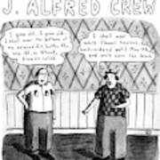The Love Song Of J. Alfred Crew Poster