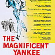 The Magnificent Yankee, Us Poster Art Poster