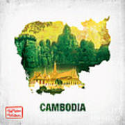 The Map Of Cambodia 2 Poster