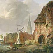 The March Gate In Buxtehude Poster by Adolph Kiste