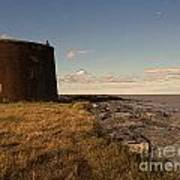 The Martello Tower Poster