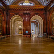 The Mcgraw Rotunda At The New York Public Library Poster