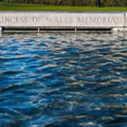 The Memorial Fountain Poster