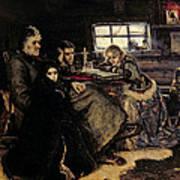 The Menshikov Family In Beriozovo, 1883 Oil On Canvas Poster