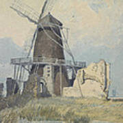 The Mill St Benet's Abbey Poster