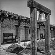 The Mission Bell B/w Poster
