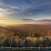 The Mountains Of Brasstown Bald Poster