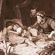 The Murder Of The Princes In The Tower Poster