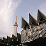 The National Mosque Kuala Lumpur Poster