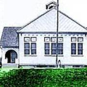 The National Museum Of Architecture In Sloansville N Y In 1905 Poster