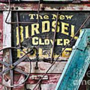 The New Birdsell Clover Huller Poster