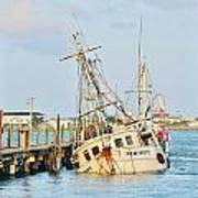 The New Hope Sunken Ship - Ocean City Maryland Poster