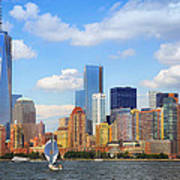 The New New York Skyline Poster