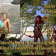 Princess Of The Sacred Lake Poster