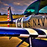 The North American L-17 Navion Aircraft Poster