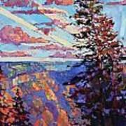 The North Rim Hexaptych - Panel 4 Poster