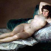The Nude Maja Poster