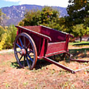 The Old Apple Cart Poster by Glenn McCarthy Art and Photography