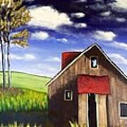 The Old Barn House Poster