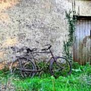 The Old Bike In The Irish Countryside Poster