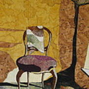 The Old Chair Poster by Lynda K Boardman