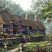 The Old Cottage Poster