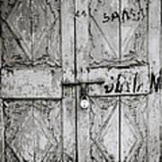 The Old Door Poster