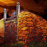 The Old Gates Of Galisteo Poster