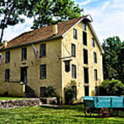 The Old Grist Mill  Paoli Pa. Poster