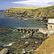 The Old Lizard Lifeboat Station Poster
